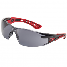 RUSH + PPSF Smoke Lens Sports Style Safety Glasses