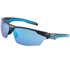 TRYON Flash Blue Lens Wrap-around Safety Glasses