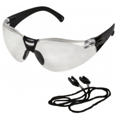 Lightweight Savu UCi Safety Glasses with Free Cord