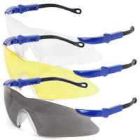 B-Brand Texas Safety Glasses c/w Neck Cord