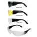 Lightweight Modern Style Java Wraparound Lens Budget Safety Glasses