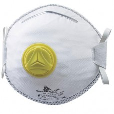 Deltaplus Cup Shaped FFP2 Valved Dolomite Respirator Face mask x 10