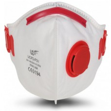 Fold Flat FFP3 NR Uci Disposable Valved Respirator Face mask x 10