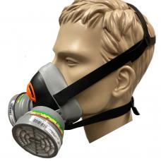 DeltaPlus M6440 ChemKit Respirator Body & Filters P3R ABEK1
