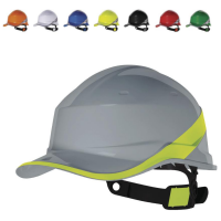 'Baseball Cap' Safety Helmet 8 Point Web Harness Easy Adjust