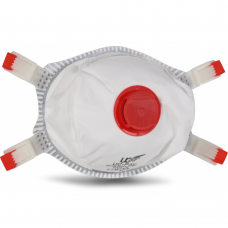 Cup Shaped FFP3 NR Uci Disposable Valved Respirator Face mask x 10