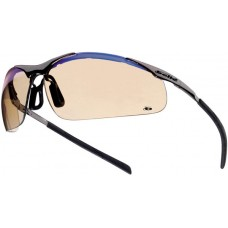 Contour ESP Metal Frame Solar Protection Safety Glasses & FREE pouch