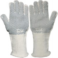 Uci Nitrile Grip on Terrycloth 250 Degree Heat Tested Extended Cuff Safety Gloves