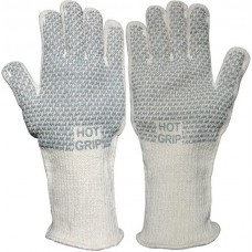 Nitrile Grip on Terrycloth 250ºC Heat Tested Extended Cuff Safety Gloves