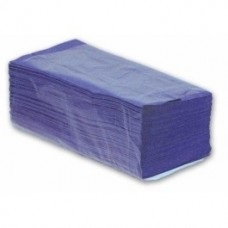 Interfold 1 ply Blue Hand Towels 3600 towels in pack
