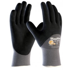 Knuckle Coated ATG Maxiflex Ultimate Lightweight Nitrile Gloves