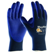 ATG MaxiFlex Elite Ultra Lightweight Nitrile Dotted Palm Gloves