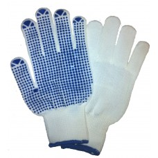Pick and Go Polka Dot Palm Dotted Lint Free Warehouse Work Gloves