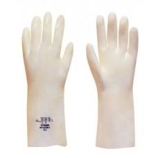 """Vyclear® Petrol, Acid & Alkali Resistant Dipped PVC 14"""" 35cm Gauntlet"""