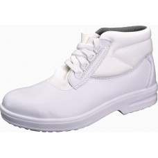 Food Industry White Lace Up Lorisafe Upper Safety Boot