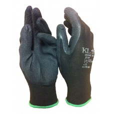 Latex Palm Coated Gripper Work Gloves on Lightweight Stretch Nylon Liner