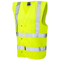 Underground Railway High Visibility Studded Pull Apart Waistcoat Class 2
