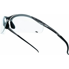 CONTOUR Bolle Clear Lens UV Filter Safety Glasses with Pouch 2C-1.2 1FT KN