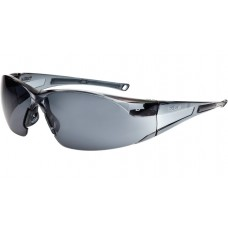 RUSH Bolle Smoke Lens Sunglare Filter All Round Vision Safety Glasses & cord