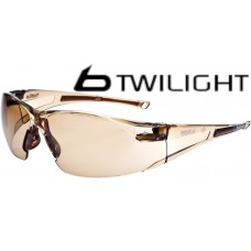 RUSH Bolle Twilight Double Anti Fog Lens Sunglare Filter Safety Glasses & cord