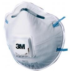 3M™ 8822 Cool Flow™ Valved FFP2 NR Dolomite Safety Respirator Mask x 10