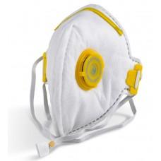 B Brand FFP3V NR Fold Flat Valved Respirator Safety Mask x 20