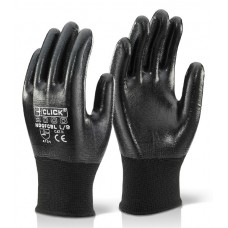 Fully Coated Click Nitrile Coating Liquid Proof Gloves