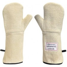 250ºC Integral Liquid and Steam Barrier Heavy Duty Terry Cloth Bakers Oven Mitt