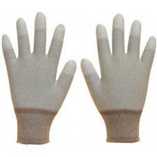 Pure Dex Antistatic Finger tip PU Coated Inspection Gloves