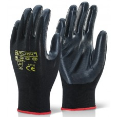 Click 2000 Nite Star Nitrile Palm Coated Engineers Glove.