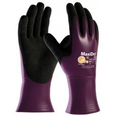 MaxiDry 56-426 Liquid & Oil Proof  Chemical Use Fully Coated Nitrile Glove