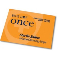 Blue Dot Sterile Saline Wipes - Pack of 10