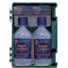 Eye Wash Kit Carry Case or Wall Mounted