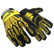 Hexarmor® Chrome All Over Cut 5 Oil & Impact Resistant Mechanics Gloves 4521