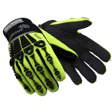 Hexarmor® Chrome High Vis Cut 5 Oil & Impact Resistant Mechanics Gloves 4521