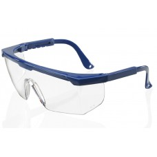 Wraparound Portland Scratch-Resistant Adjustable Arm Safety Glasses