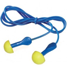 E-A-R® Express® Pod Plugs with Blue Grips and Cord SNR 28dB