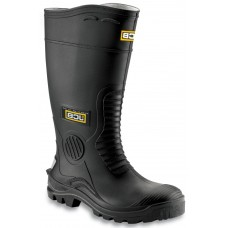 JCB Hydromaster PVC Black Full Safety Wellington