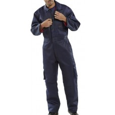 Click Quilted Poly Cotton Cold Work Boilersuit