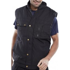 Click Hudson Bodywarmer with Studded Storm Flap