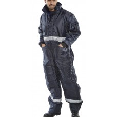 Click Freezer 'Coldstar' 3M Thinsulate Lined Zipped Coverall EN342