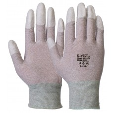 Antistatic Finger tip PU Coated Dissipative Gloves