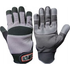 Ulti-Mecx Mechanics Full Finger Work Gloves