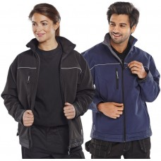 Water Resistant, Windproof & Breathable Soft Shell Jacket
