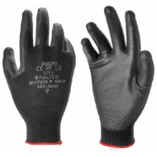Polyco Matrix P Grip Polyurethane PU Palm Coated General Purpose Gloves