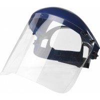 Bolle Face Shield Visor c/w Browguard Carrier Frame