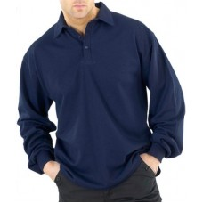 Fire Retardant Anti Static Long Sleeve Polo Shirt