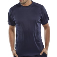 B-Cool Wicking Polyester T-Shirt Short Sleeve