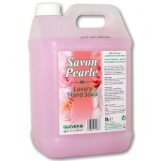 SAVON PEARLE fragrant, mild, pink pearlised liquid soap 5L