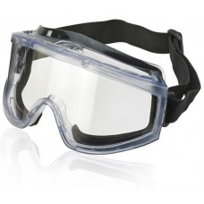 Wide Vision Anti-Fog Comfortable Foam Seal Safety Goggles.